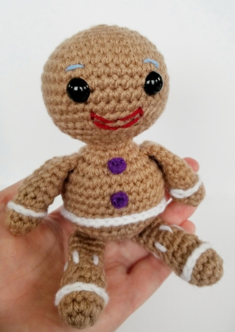 Not My Gumdrop Buttons Free Gingerbread Man Pattern The Cozy Chipmunk